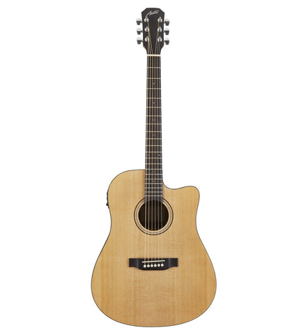 Austin AA25-DSEC Dreadnought Acoustic Electric Guitar
