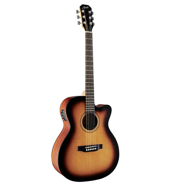 Austin AA25-OSEC SB Folk/Orchestra Acoustic Electric Guitar