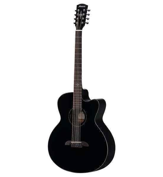 Alvarez Artist ABT60CE-8 BK 8 String Acoustic Electric Baritone Guitar