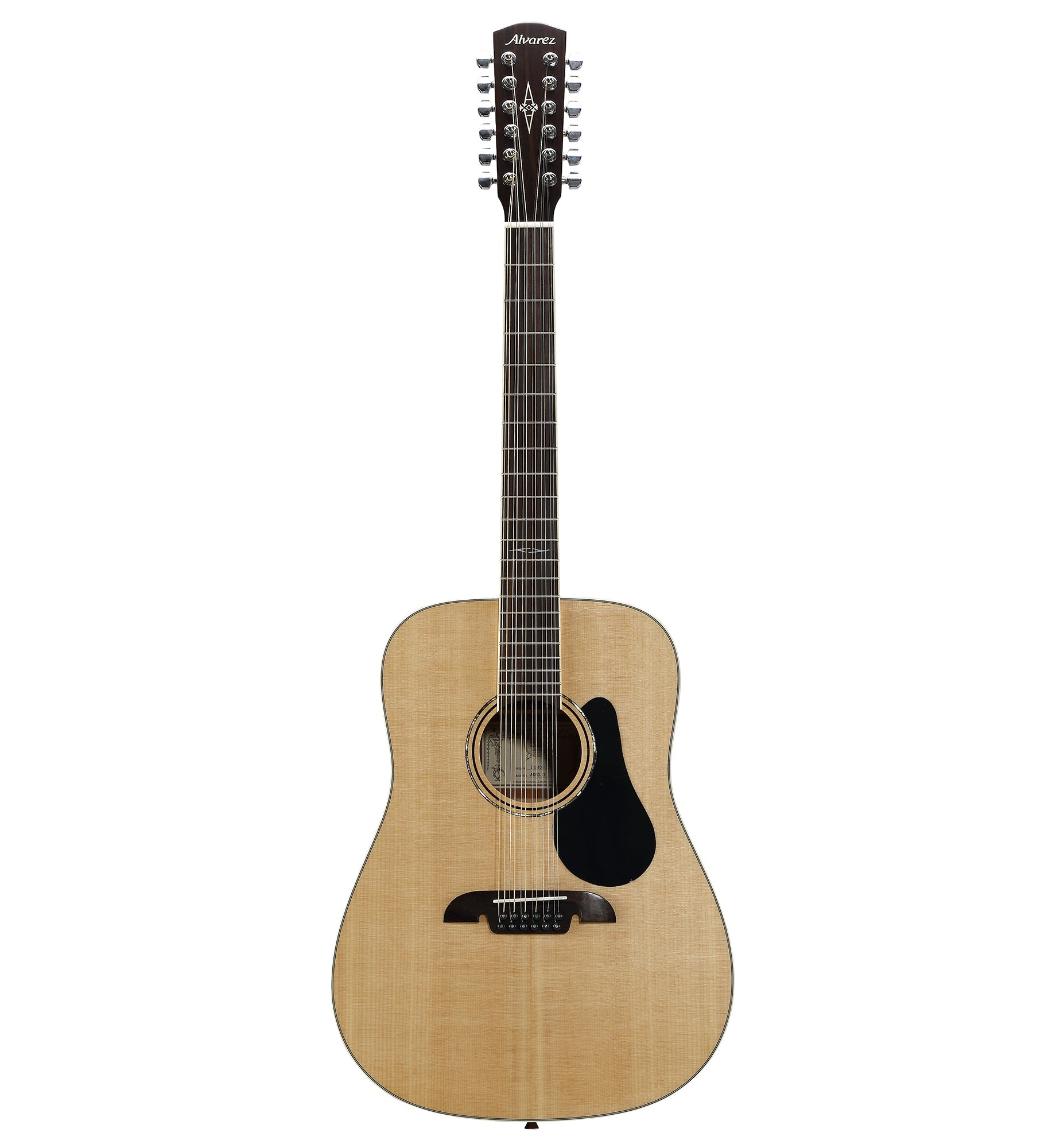 Alvarez Artist Series AD60-12 Acoustic Dreadnought 12-String Guitar