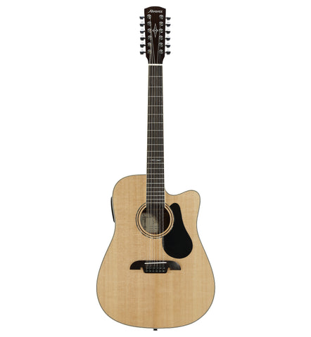 Alvarez Artist AD60-12CE Acoustic Electric 12 String Dreadnought Guitar