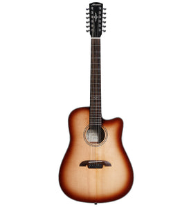 Alvarez Artist Series AD60-12CE SHB Dreadnought Acoustic Electric 12 String Guitar