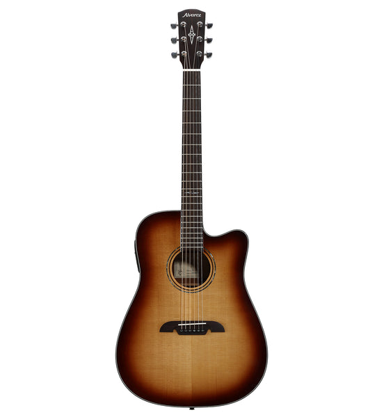Alvarez Artist Series AD60CE SHB Acoustic Electric Dreadnought Guitar