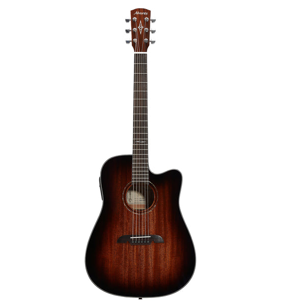 Alvarez Artist Series AD66CE SHB Acoustic Electric Dreadnought Guitar