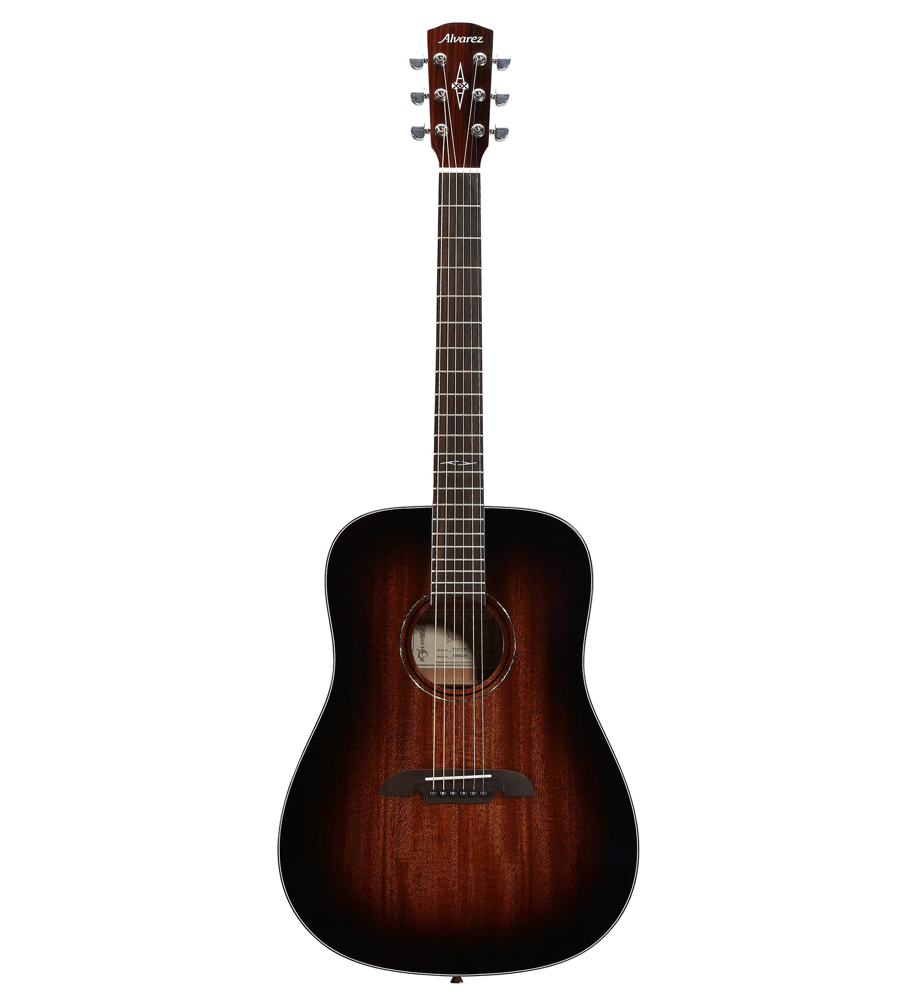 Alvarez Artist Series AD66 SHB Dreadnought Acoustic Guitar