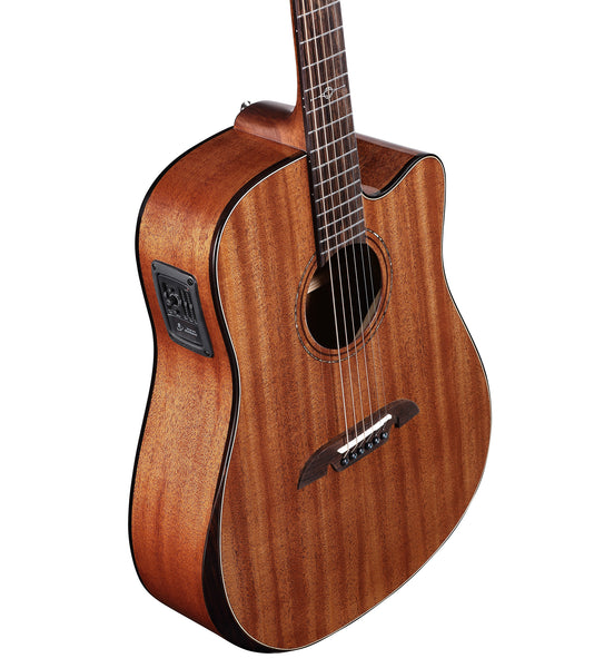 Alvarez Artist Elite Series ADM66CE AR Acoustic Electric Dreadnought Guitar w/Bevel Edge Armrest