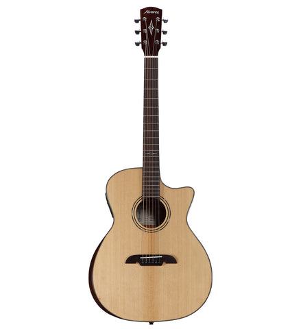 Alvarez Artist Series AG60CE AR Acoustic Electric Grand Auditorium Guitar w/Bevel Edge Armrest