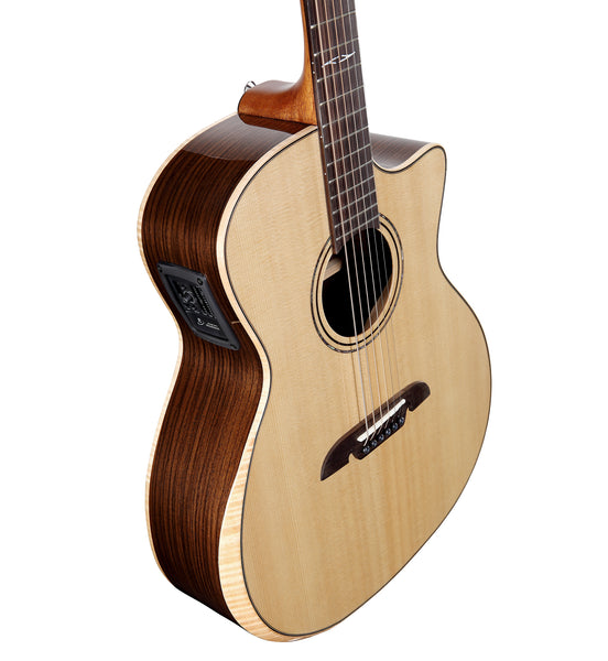 Alvarez Artist Series AG70WCE AR Acoustic Electric Grand Auditorium Guitar w/Bevel Edge Armrest
