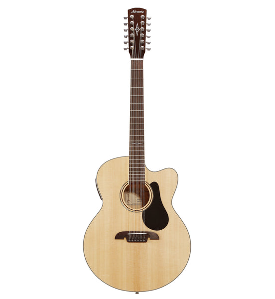 Alvarez Artist Series AJ80CE-12 Acoustic Electric Jumbo 12 String Guitar