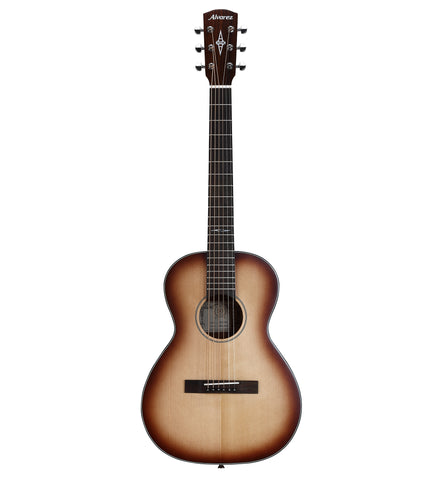 Alvarez Artist Series Delta DeLite E Acoustic Electric Travel/Student Blues Guitar w/Deluxe Gig Bag