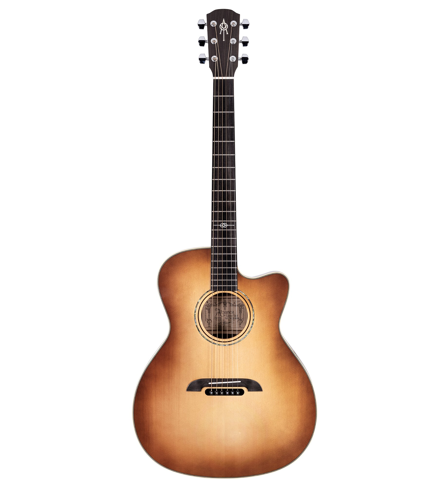 Alvarez Yairi Standard Series GY70CE SHB Grand Auditorium Acoustic Electric Guitar