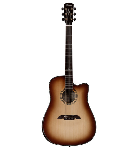 Alvarez Masterworks Elite Series MDA70WCE AR SHB Acoustic Electric Dreadnought Guitar w/Armrest