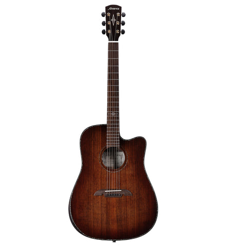 Alvarez Masterworks Elite Series MDA77CE AR SHB Dreadnought Acoustic Electric Guitar w/Bevel Armrest
