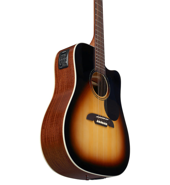 Alvarez Regent RD26CE SB Acoustic Electric Dreadnought Guitar w/Deluxe Gig Bag