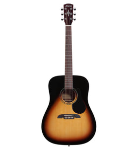 Alvarez Regent Series RD26 SB Acoustic Dreadnought Guitar w/Deluxe Gig Bag