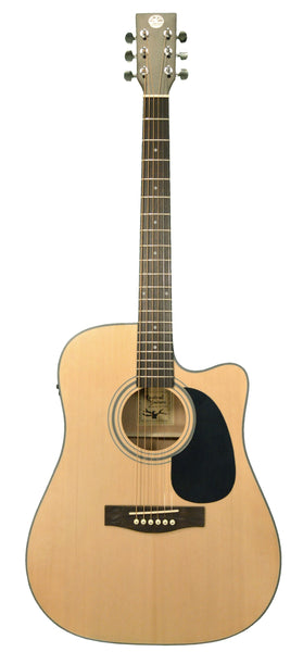 Revival RG-10CE Spruce Mahogany Dreadnought Acoustic Electric Guitar