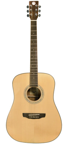 Revival RG-27 Solid Sitka Spruce Mahogany Dreadnought Acoustic Guitar