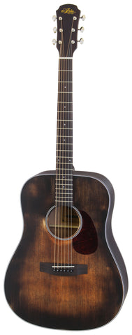Aria 111DP Delta Player Dreadnought Acoustic Guitar