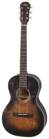 Aria 131DP Delta Player Parlor Acoustic Guitar
