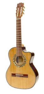 Paracho Elite Zapata Acoustic Requinto Guitar