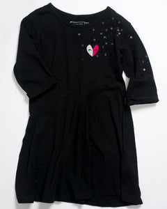 ROBE MANCHES COURTES - 5 ANS