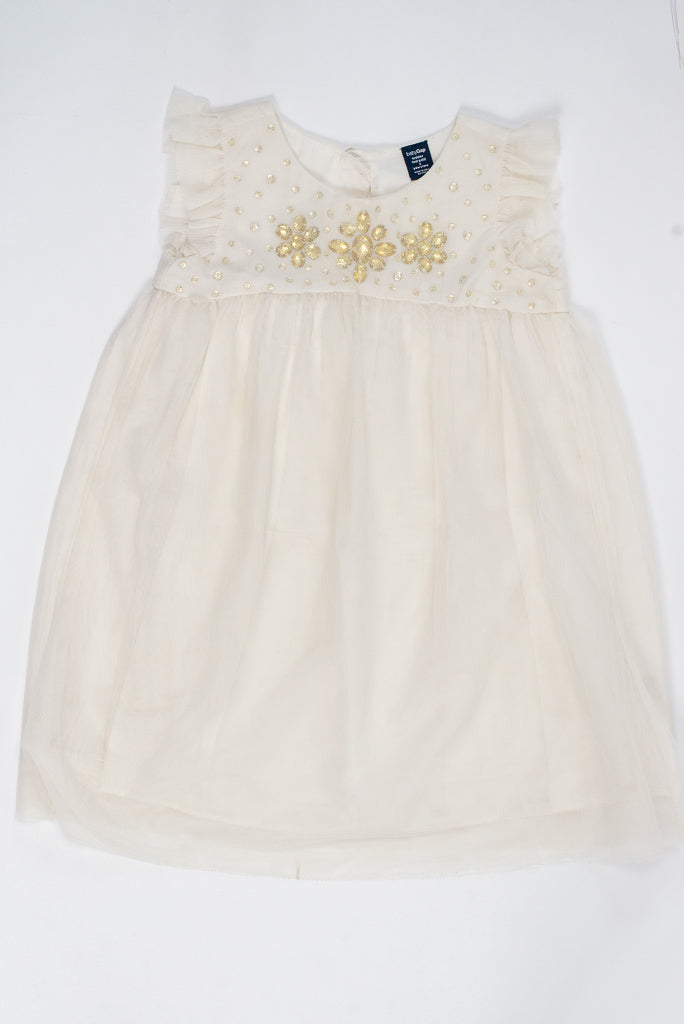 ROBE MANCHES COURTES - 3 ANS