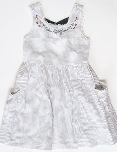 ROBE MANCHES COURTES - 7 ANS