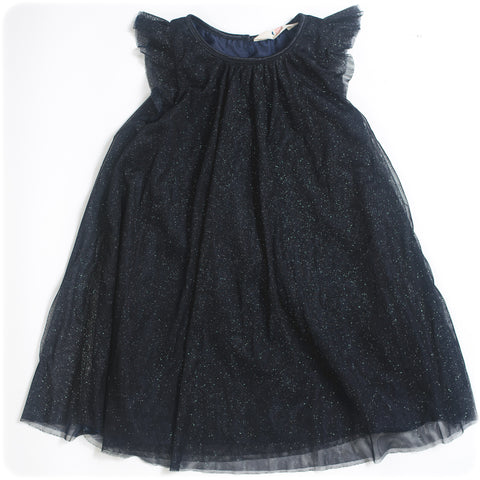 ROBE BRILLANTE - 5-6 ANS