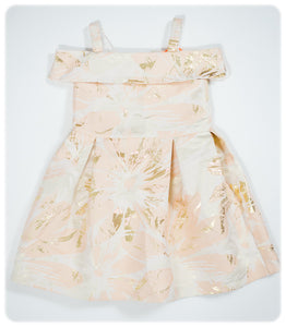 *NEUF* ROBE MANCHES COURTES - 2-3 ANS