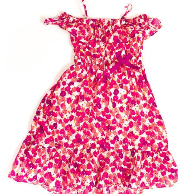 ROBE MANCHES COURTES - 2 ANS