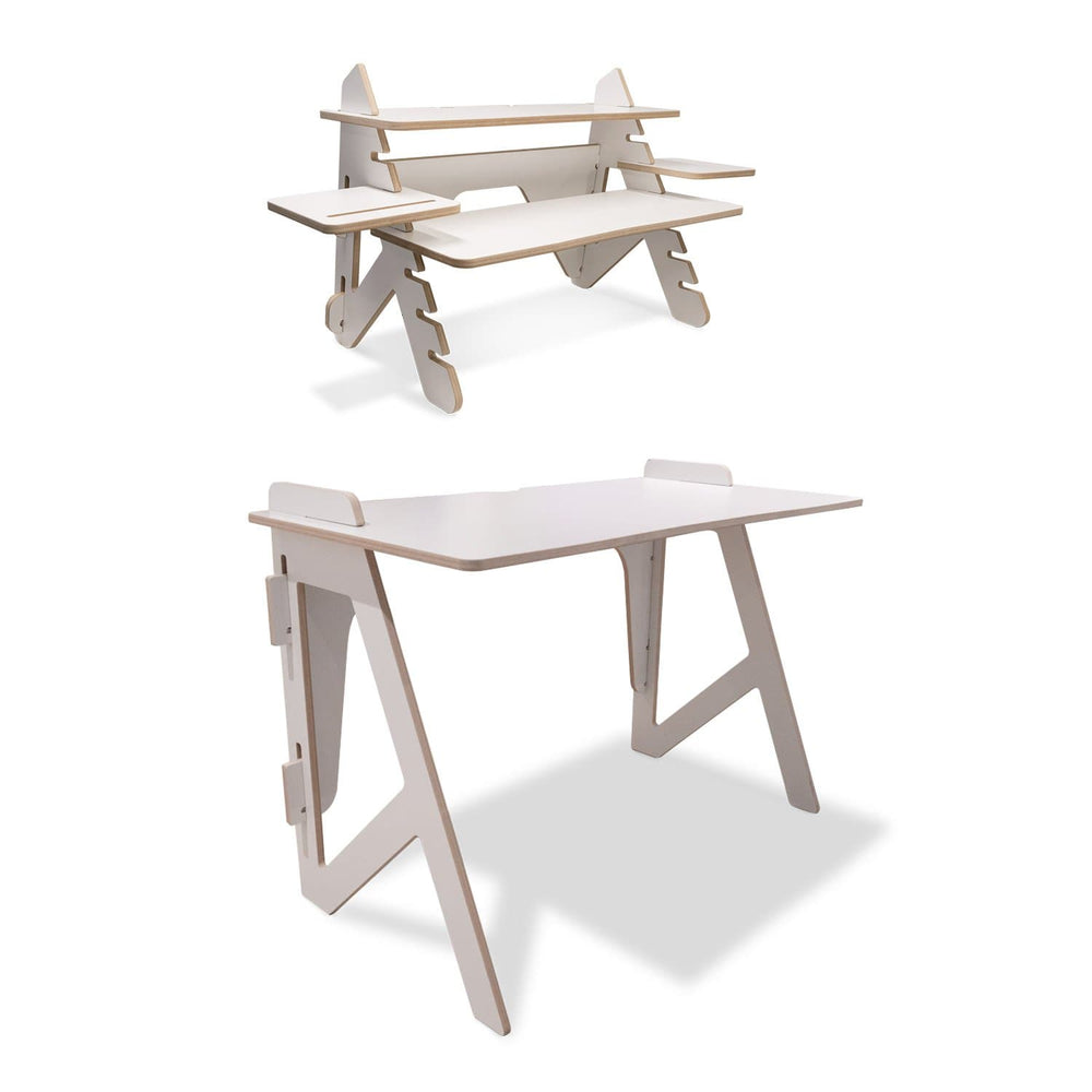Lite-desk and lite-upright package
