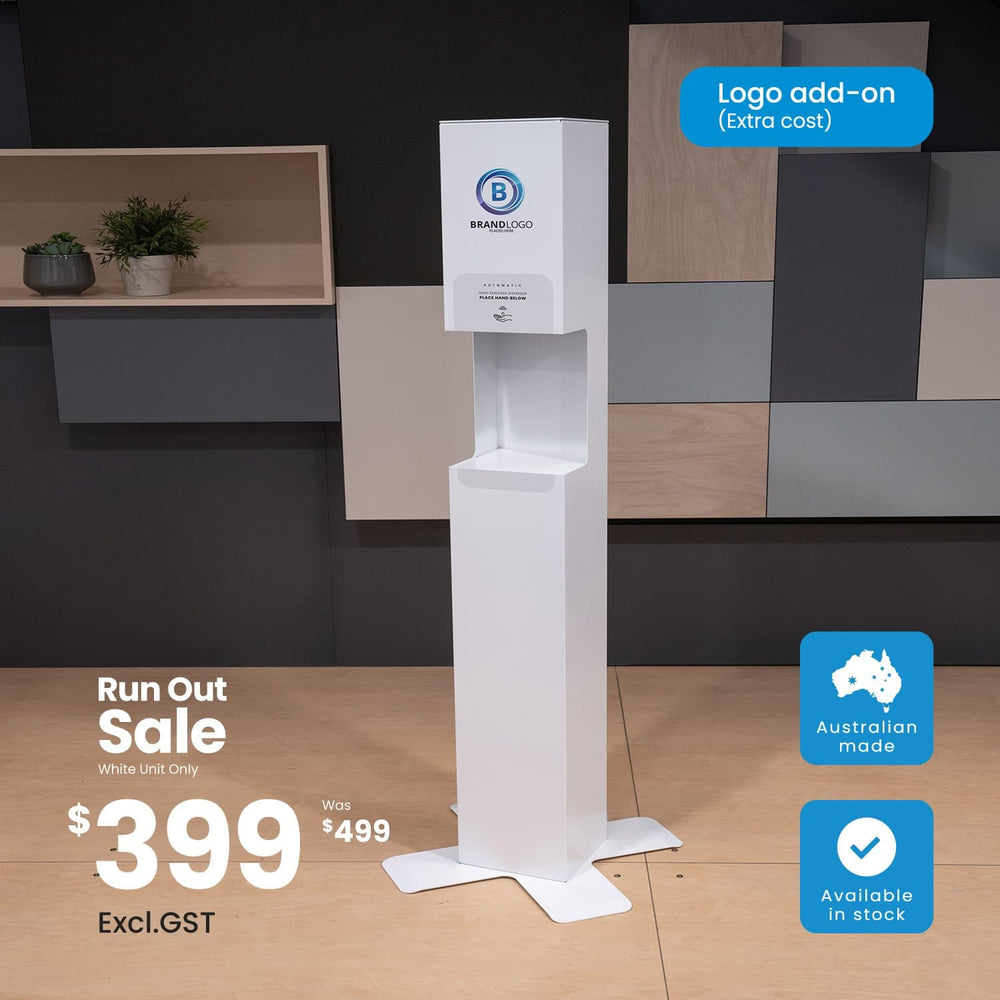 Load image into Gallery viewer, Premium Hand Sanitiser Station - Free-Standing (5241912164508)
