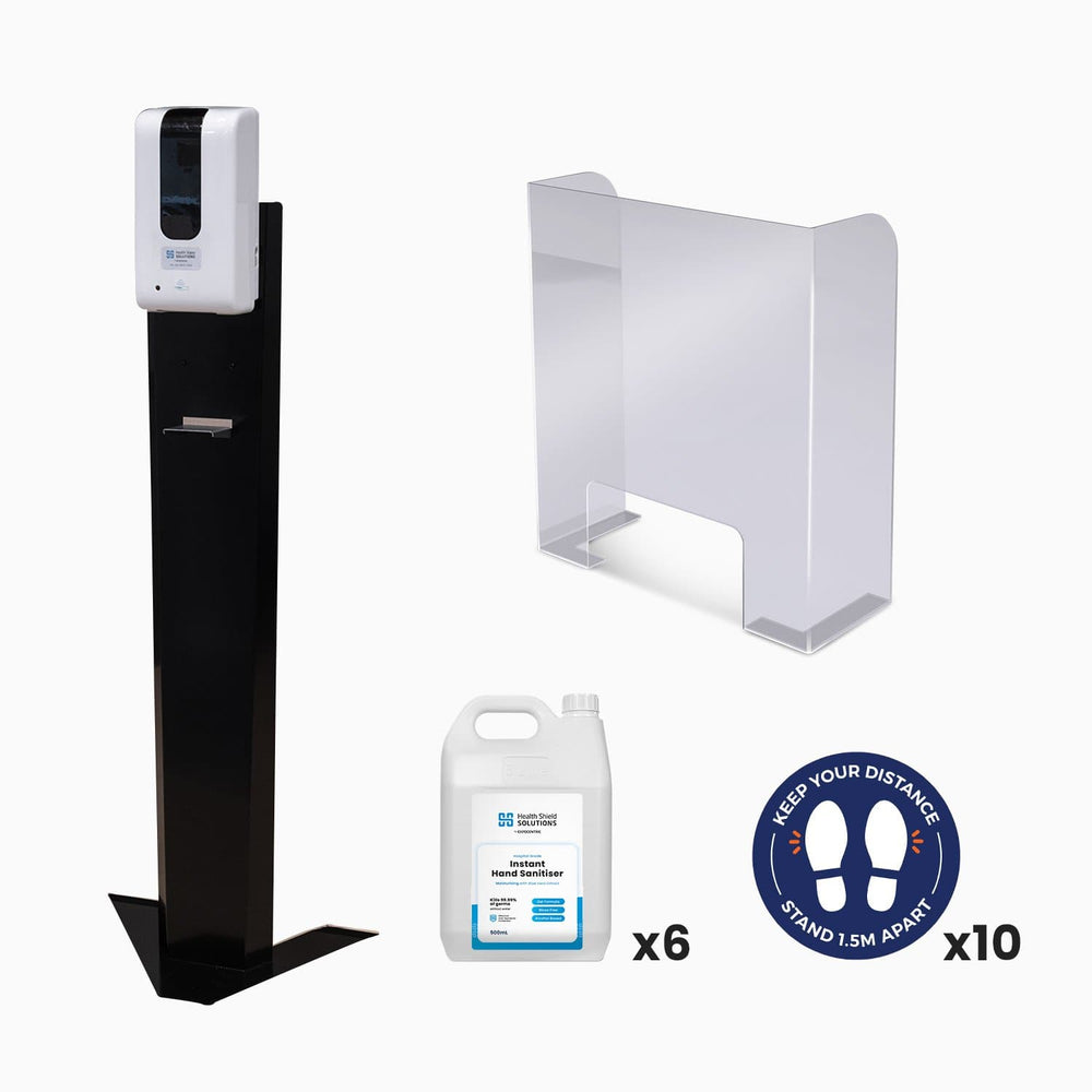 Sanitiser dispenser stand (5278429347996)