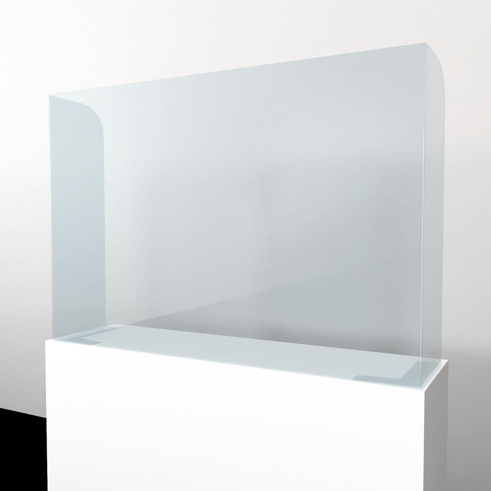 Acrylic protection screen - Counter-top Module Protection Screen - 1200mm Closed
