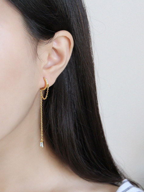 Bonnie Chain Earrings