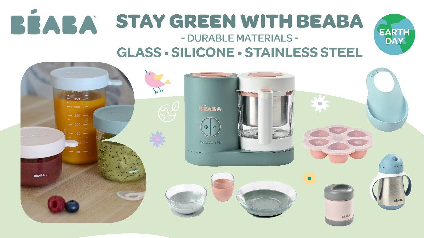 Stay GREEN this Earth Day with Beaba!