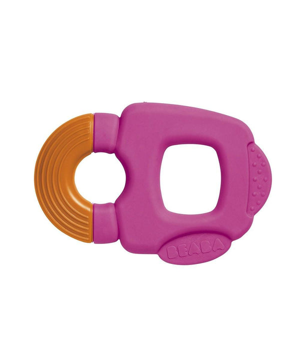 Teether Ring - Pink Orange