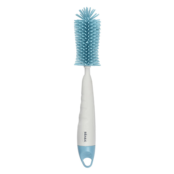 Silicone Bottle Brush - Blue