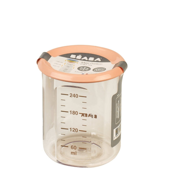 240ml Tritan Food Jar - Nude (1)