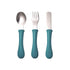Stainless Steel training Cutlery Set - Blue