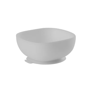 Silicone Suction Bowl - Grey