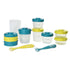 Stackable Food Jars - Blue