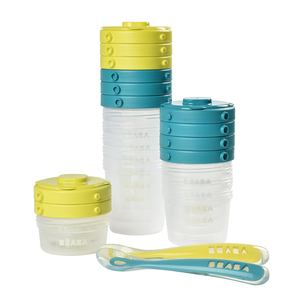 Stackable Food Jars - Blue (1)
