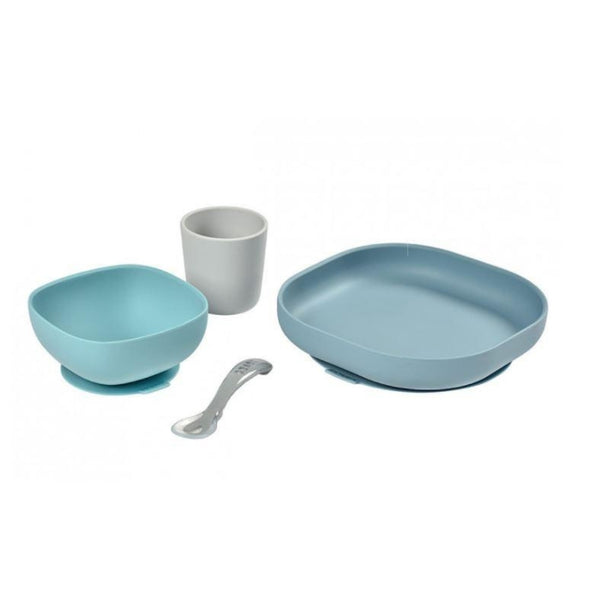 Silicone Suction Meal Set - Jungle (1)