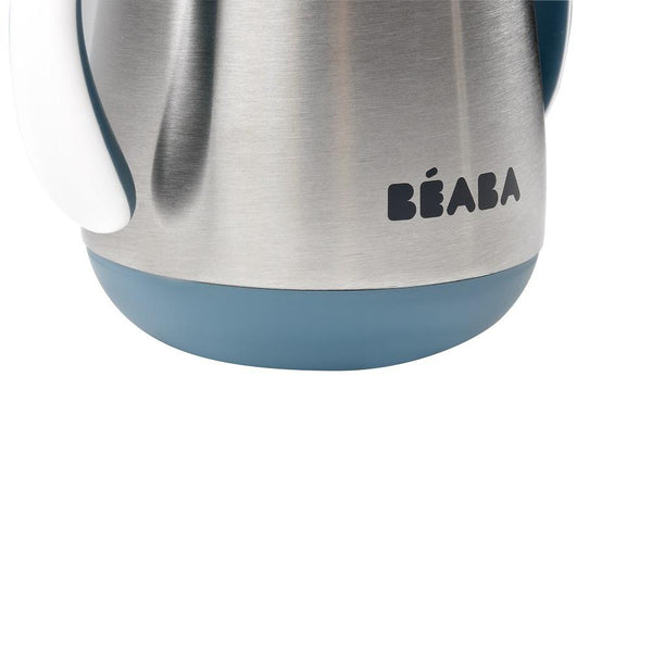 Beaba Stainless Steel Straw Learning Cup - Blue (5)