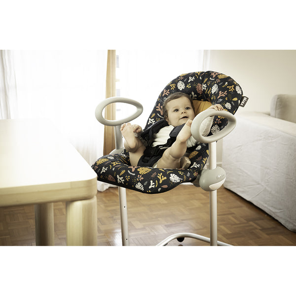 Beaba Up & Down Bouncer - Botanical (2)