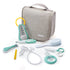 Hanging Toiletry Bag With Accessories - Grey