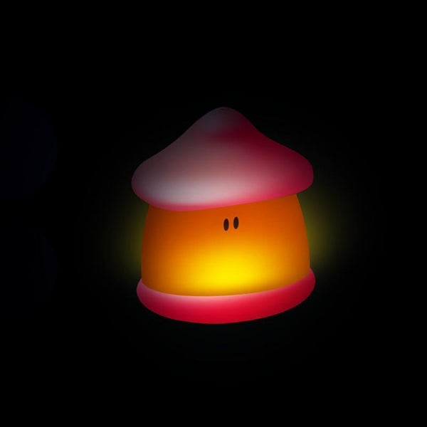 Beaba Pixie Soft Supple Bodied Night Light with USB Charge - Coral (2)