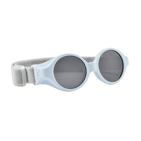 Baby Clip Strap Sunglasses - Powder Blue
