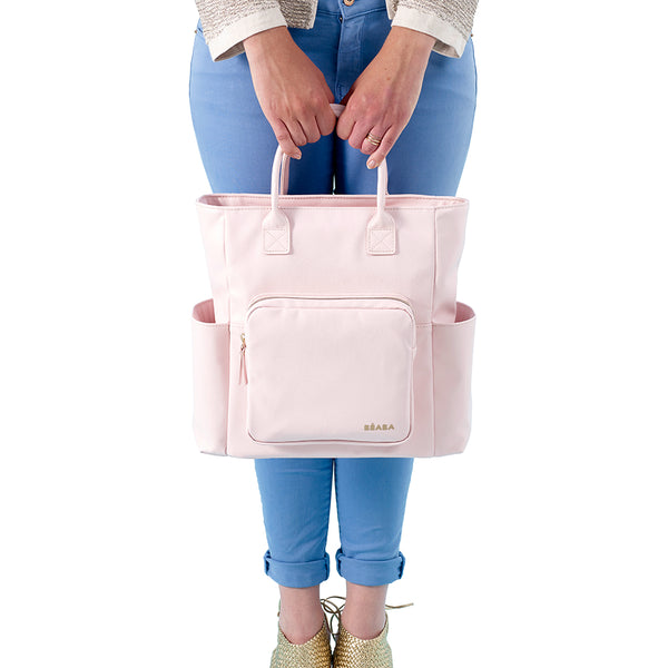 Kyoto Nappy Bag - Pink (1)